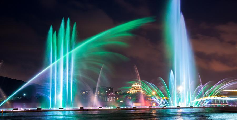 久等了!四川波光跳泉给你不一样的喷泉体验!