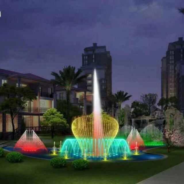 河南音乐喷泉案例