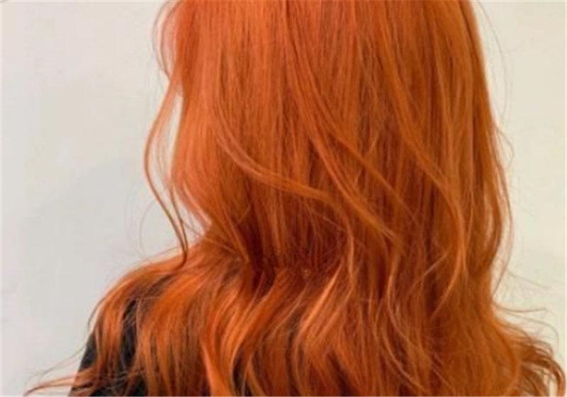 脏橘色头发