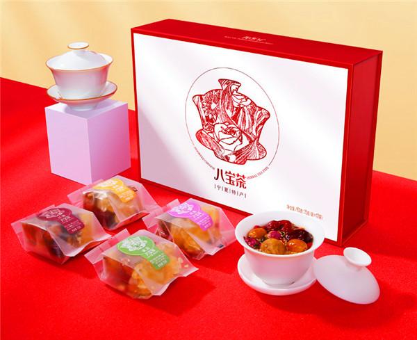 宁夏八宝茶礼盒包装