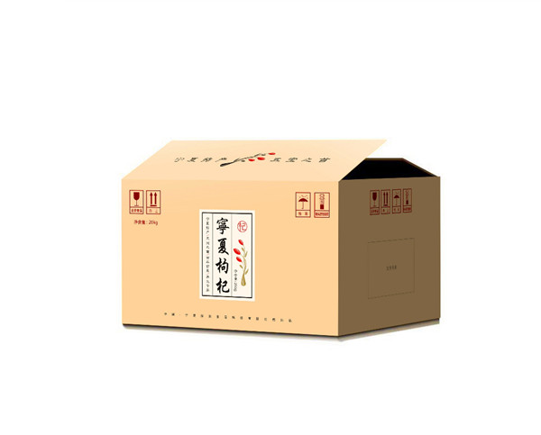 宁夏油印牛皮纸箱