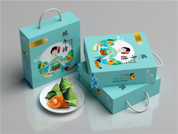 宁夏粽子礼盒包装