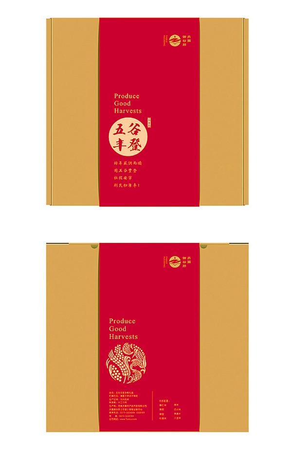 宁夏杂粮礼盒包装