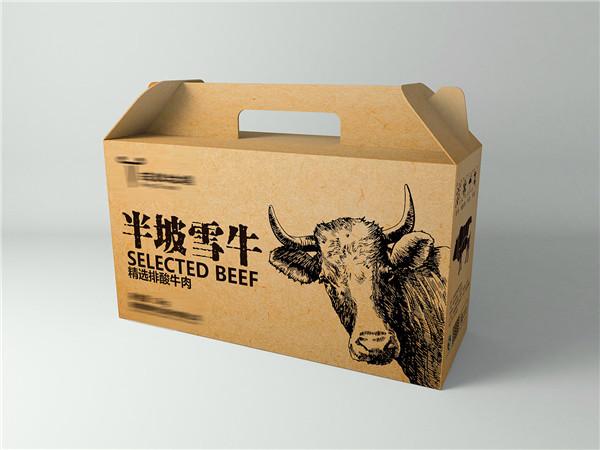 牛肉紙手提箱