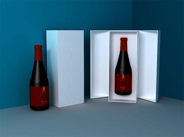 针对一片式折叠盒这一高档精品礼盒做一个简单的介绍