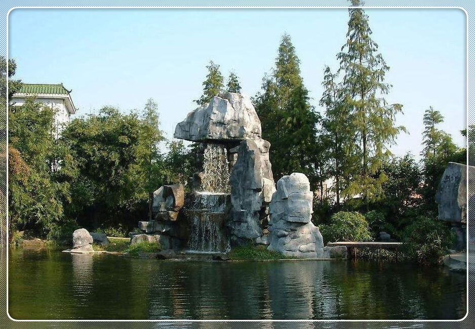 河南假山雕塑