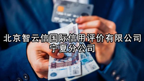 北京智云信国际信用评价有限公司宁夏分公司