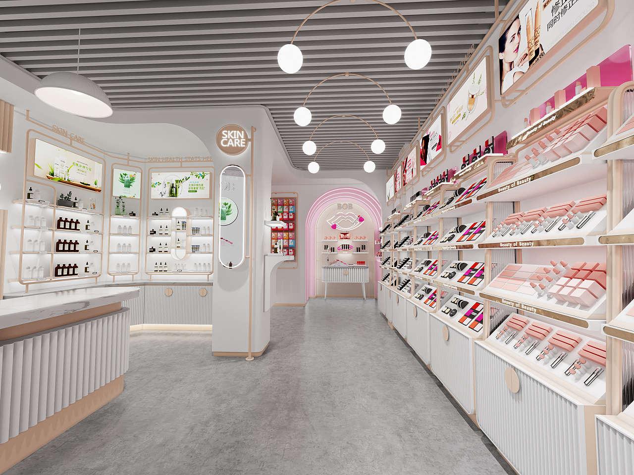 新疆化妆品展柜制作