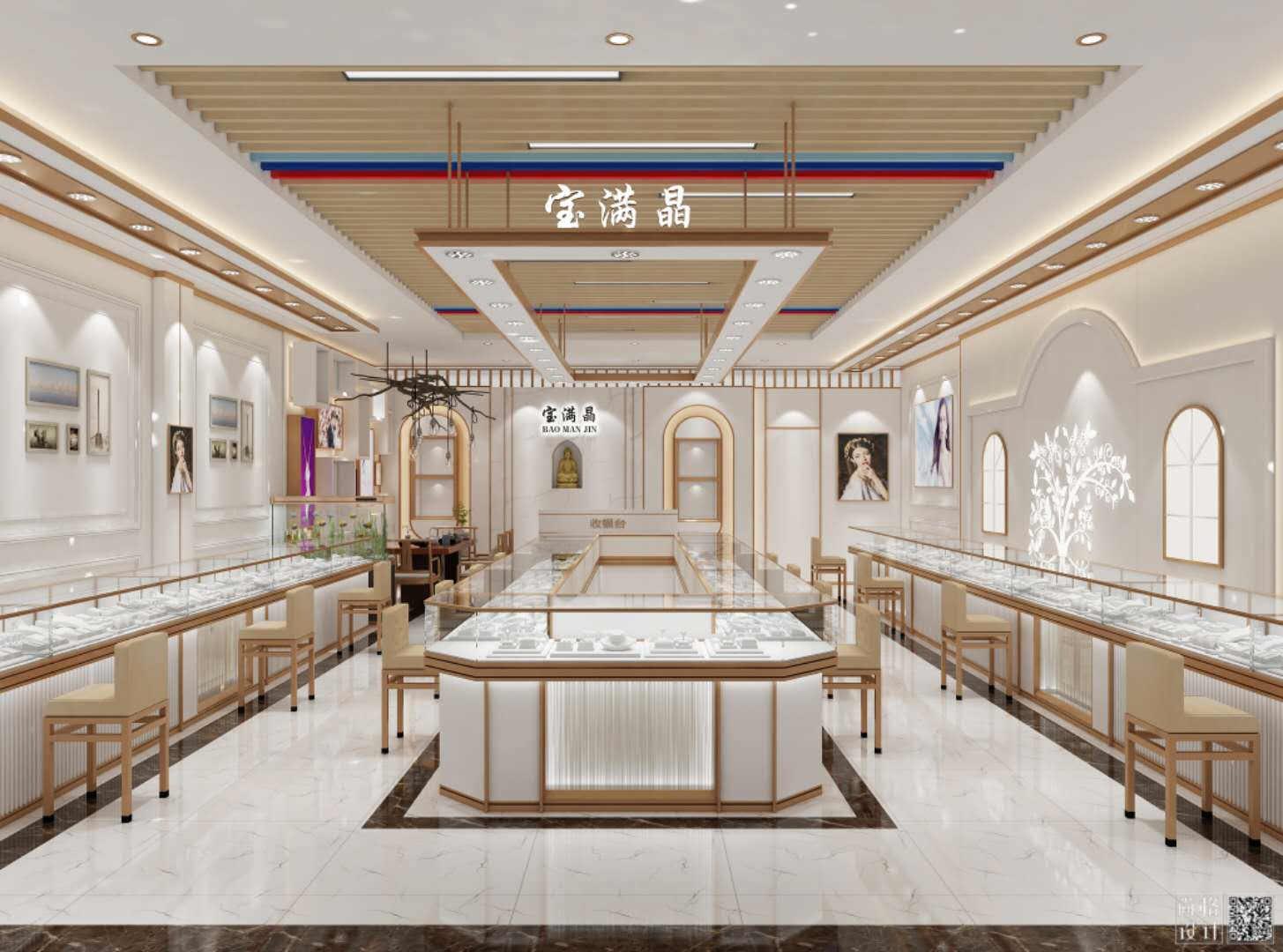 新疆珠宝展柜设计