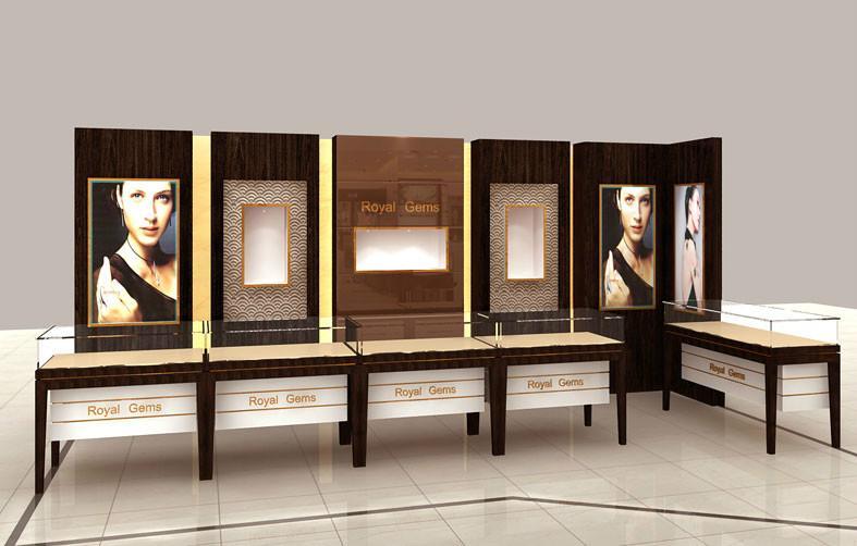 新疆珠宝展柜定制