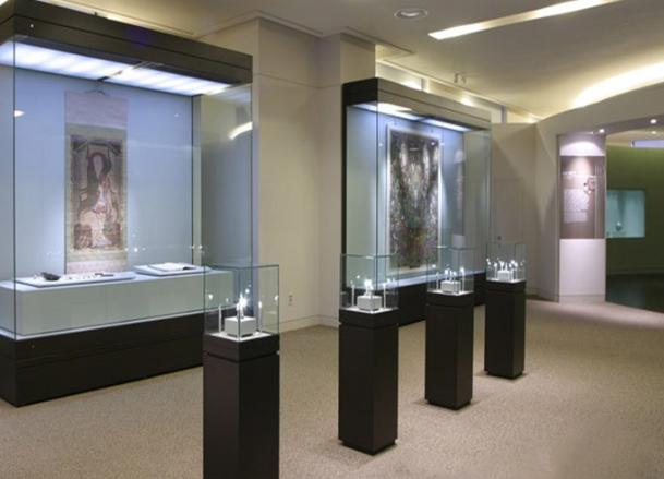 新疆玻璃展柜设计