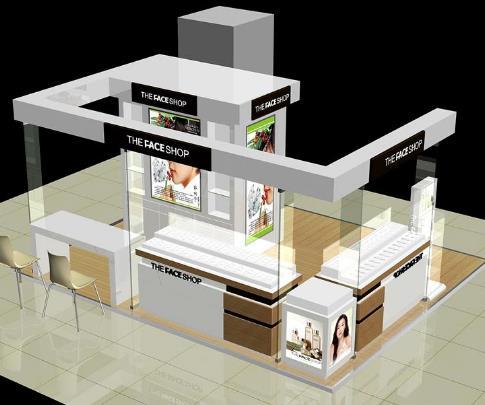 新疆化妆品展柜制作的要点及对店铺的作用有哪些?