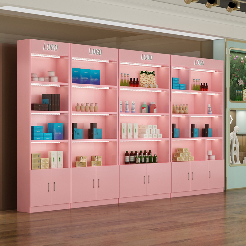 新疆化妆品展柜设计
