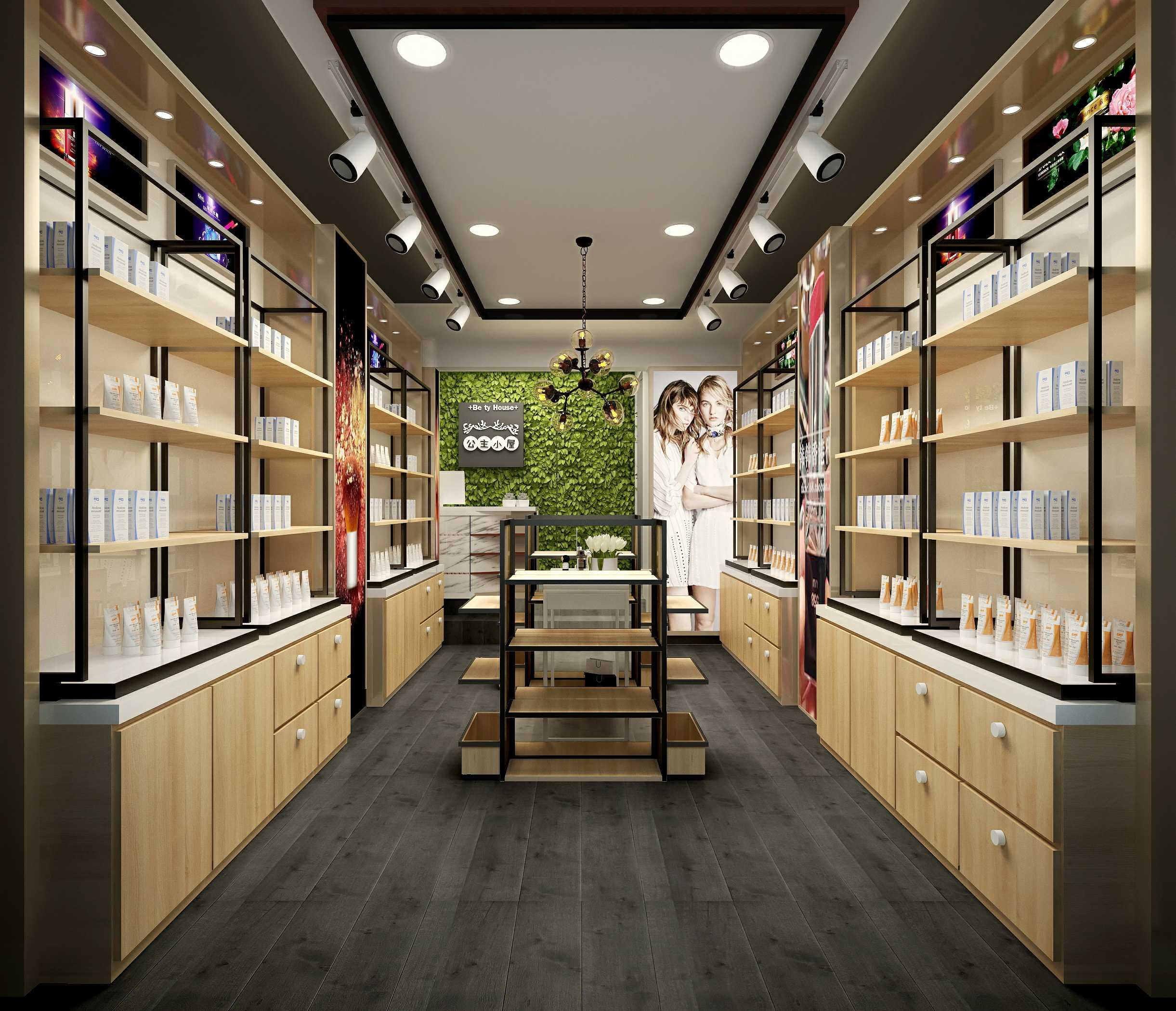 新疆化妆品展柜夏季需要注意的点有哪些?