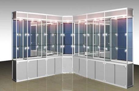 展柜在定制时,对色彩搭配的要求也是超高的!