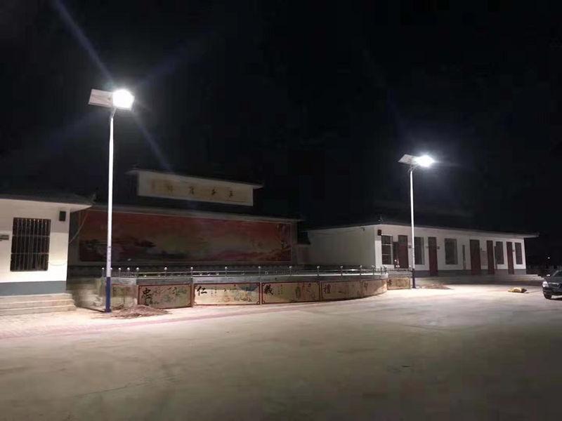 山西运城太阳能路灯安装案例