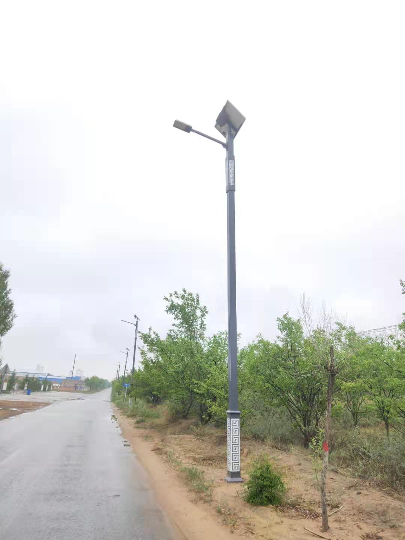 陕西太阳能路灯安装实例