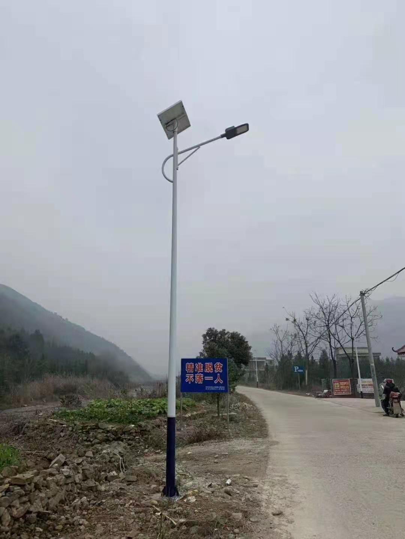 陕西太阳能路灯详细安装流程是怎样的?具体包括哪些部分了?