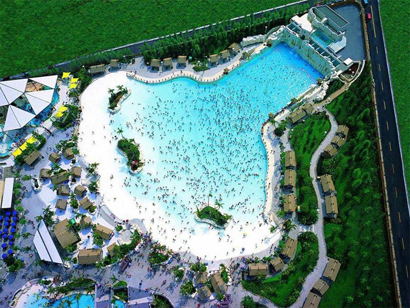 水上乐园真空造浪池