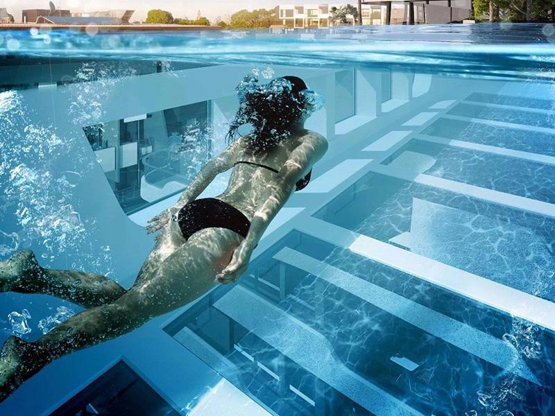 建造别墅泳池的方法及所需要的水处理设备