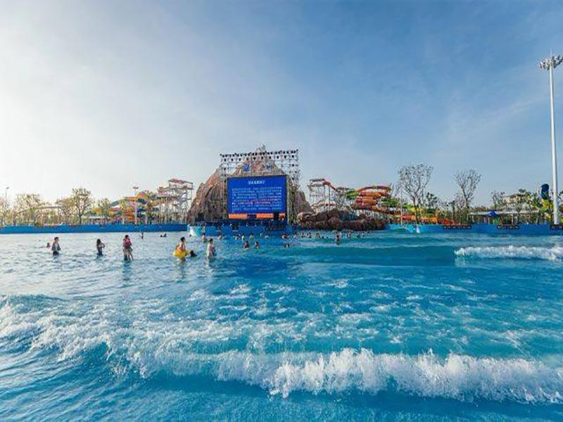 吉林汉景汤泉造浪池
