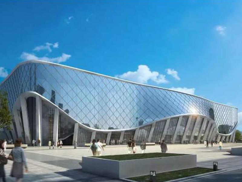 新乡平原体育中心游泳池工程