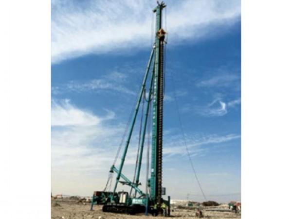 多功能软质旋喷岩石潜孔复合桩桩机