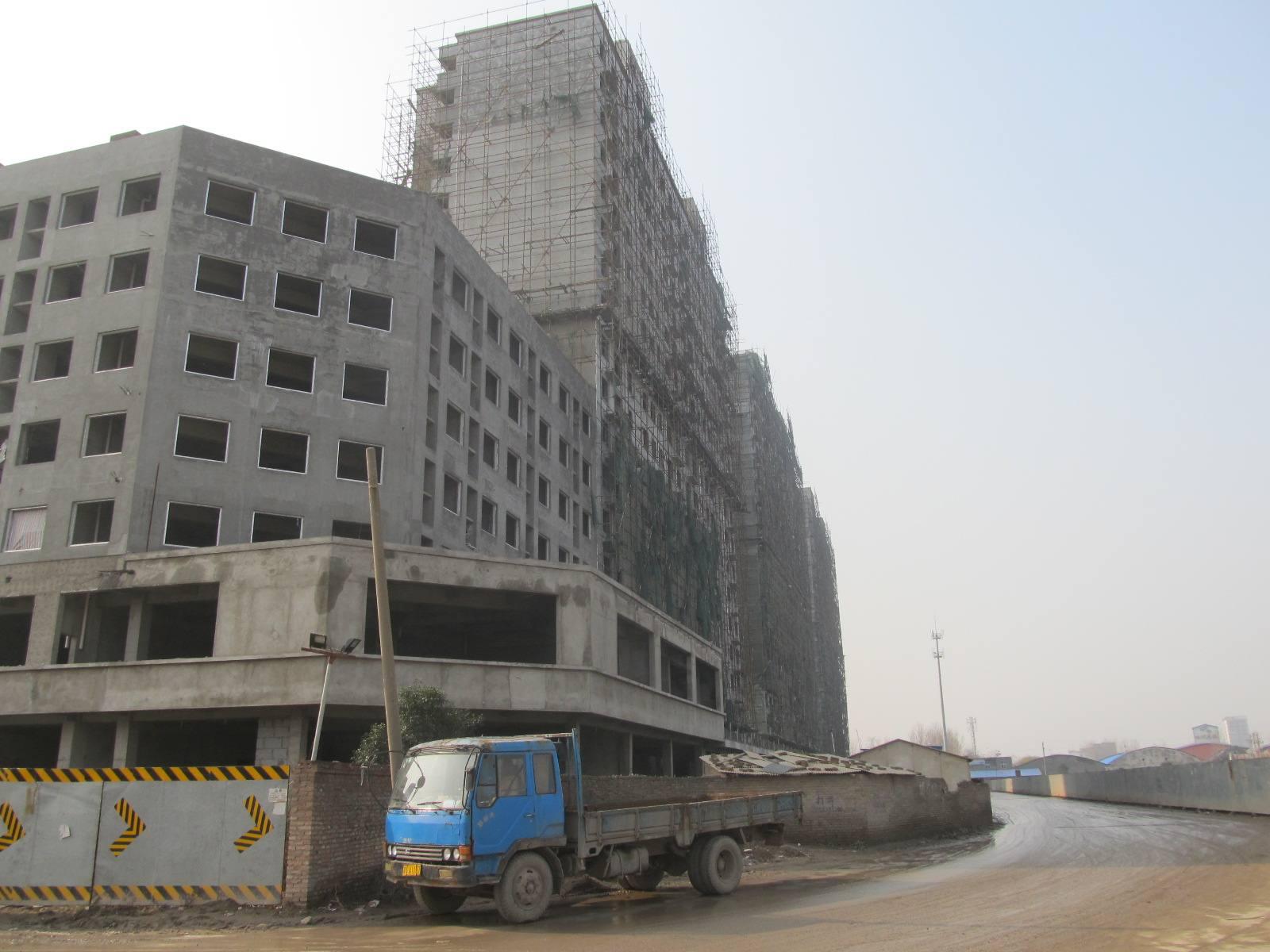 郑州水泥使用案例