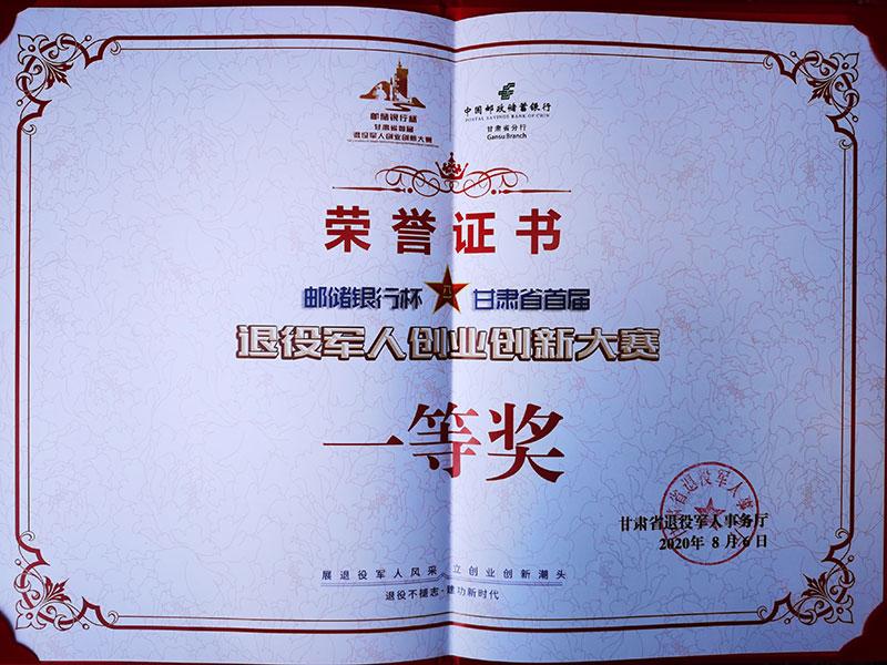 创新大赛-荣誉证书