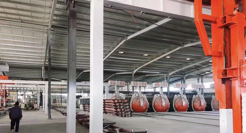 甘肅中海建材生產車間