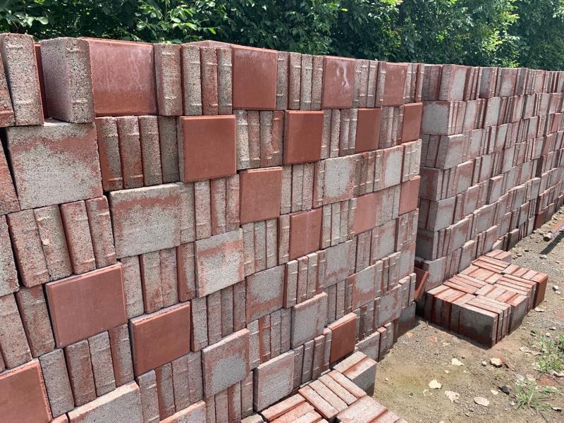 透水砖生产