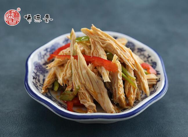 唏嘛香小菜凉拌腐竹