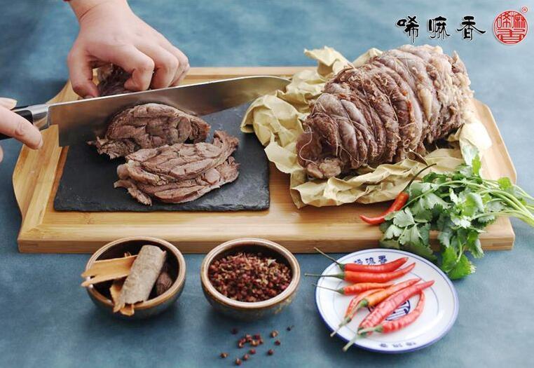 唏嘛香菜品之牛腱子肉