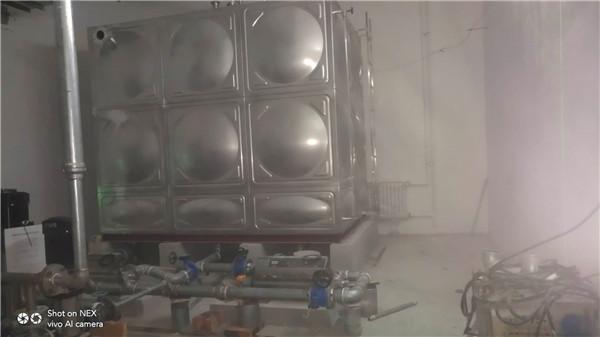 安装不锈钢水箱