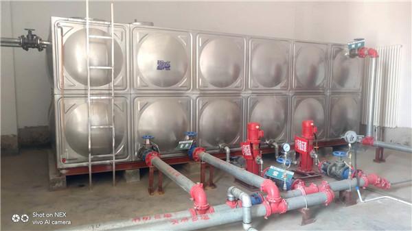 中卫水箱厂家  不锈钢水箱
