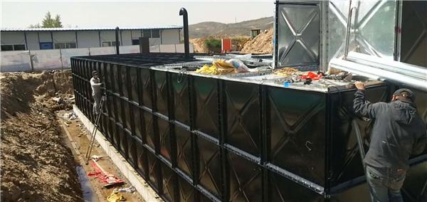 宁夏地埋式水箱