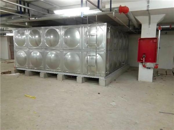 原来不锈钢箱泵一体水箱的着色方法是这样的啊