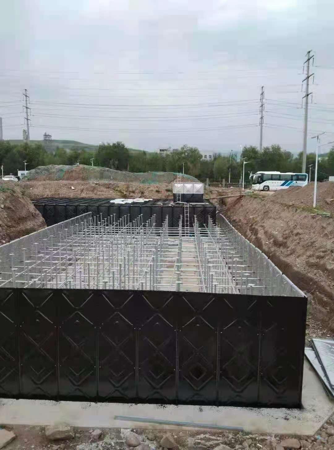 混凝土池改造成防浮式地埋消防泵一体化的过程需要注意这些问题
