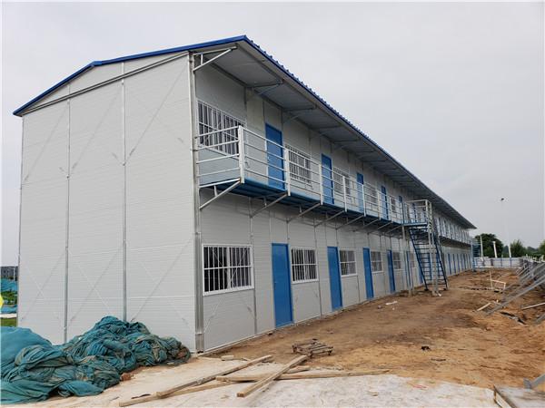 郑州彩板房施工