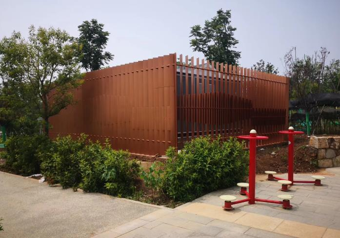 公园变电箱围栏