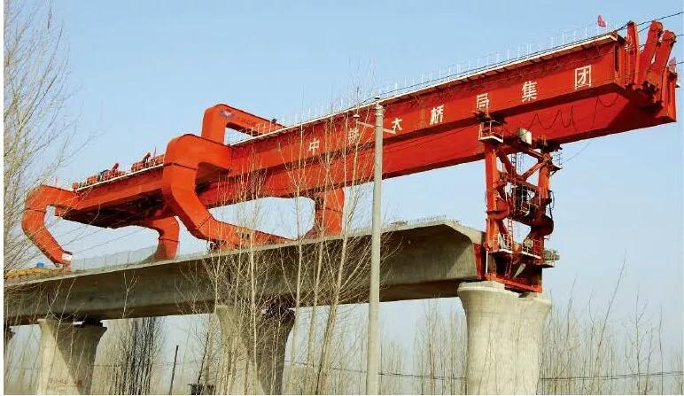 陕西桥式起重机中铁大桥局案例