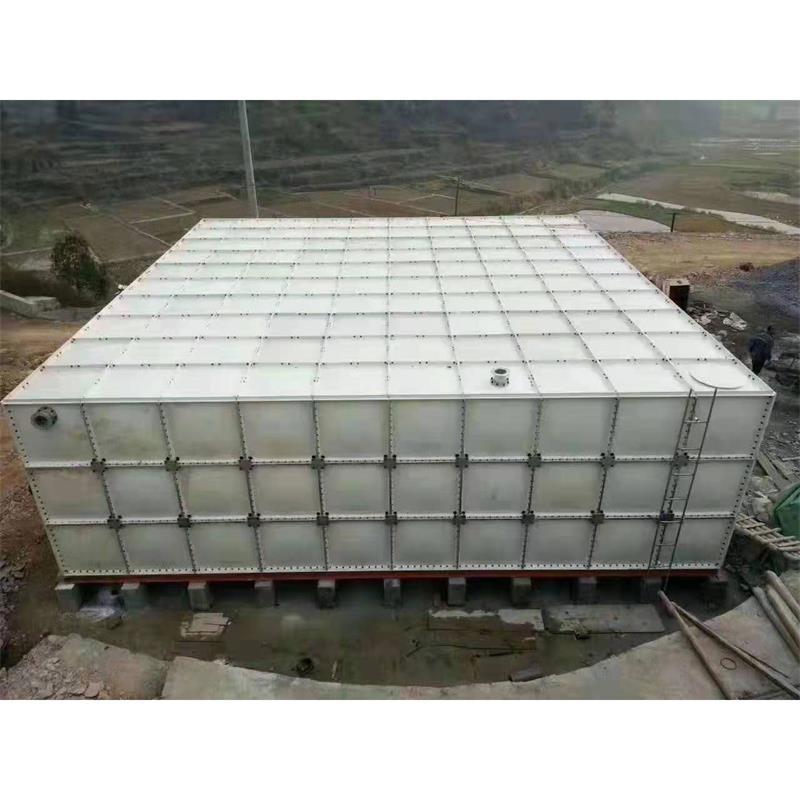 屋顶玻璃钢SMC水箱