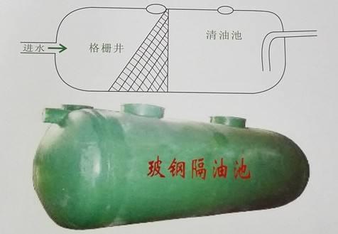 张家口玻璃钢隔油池厂