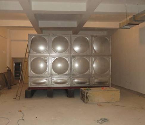 张家口不锈钢人防水箱价格