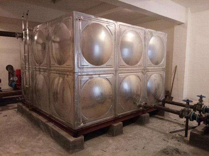 张家口不锈钢人防水箱
