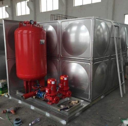 不锈钢一体式消防泵站