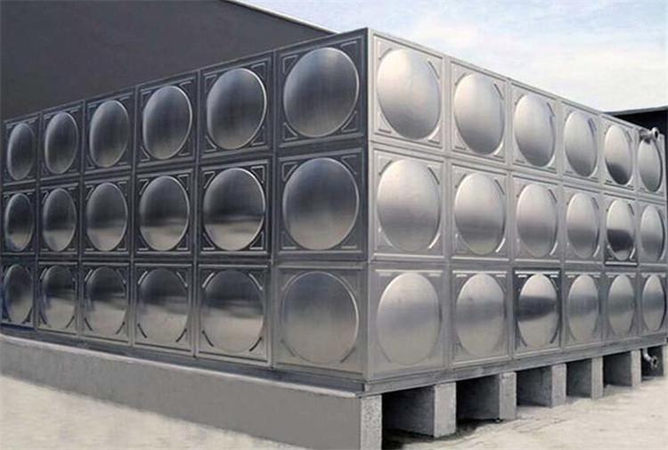 河北不锈钢水箱厂家直销不锈钢一体化组合式消防水箱泵