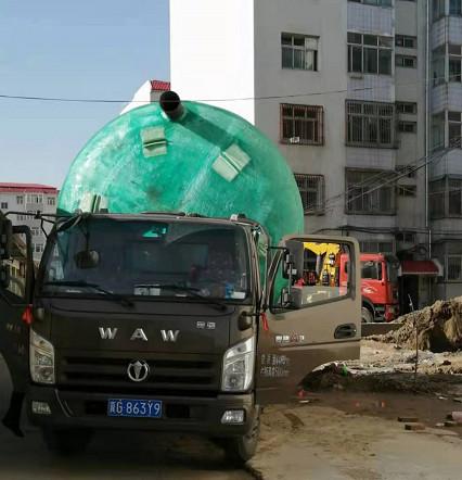 40立方米玻璃钢化粪池发货