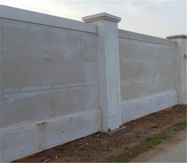 分享一些关于预制围墙的各种注意事项