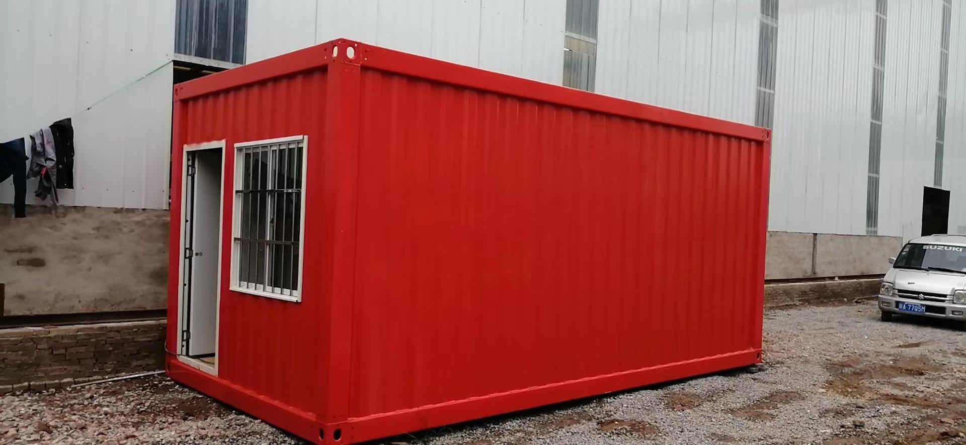 西安集装箱房安装案例